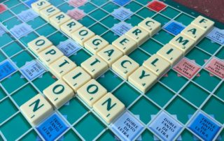 Surrogacy, Creation, Family, Option scrabble